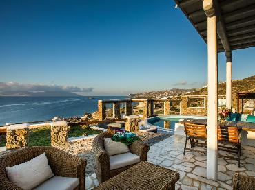 Sunset Villa Iza in Mykonos Town, Cyclades