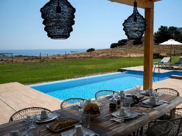 Villa Alkyoni in Pefki on Rhodes
